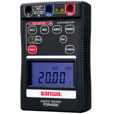 Sanwa Digital earth tester model: saNwa-PDR4000