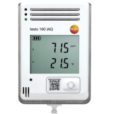 Testo 160 IAQ WiFi data logger with display